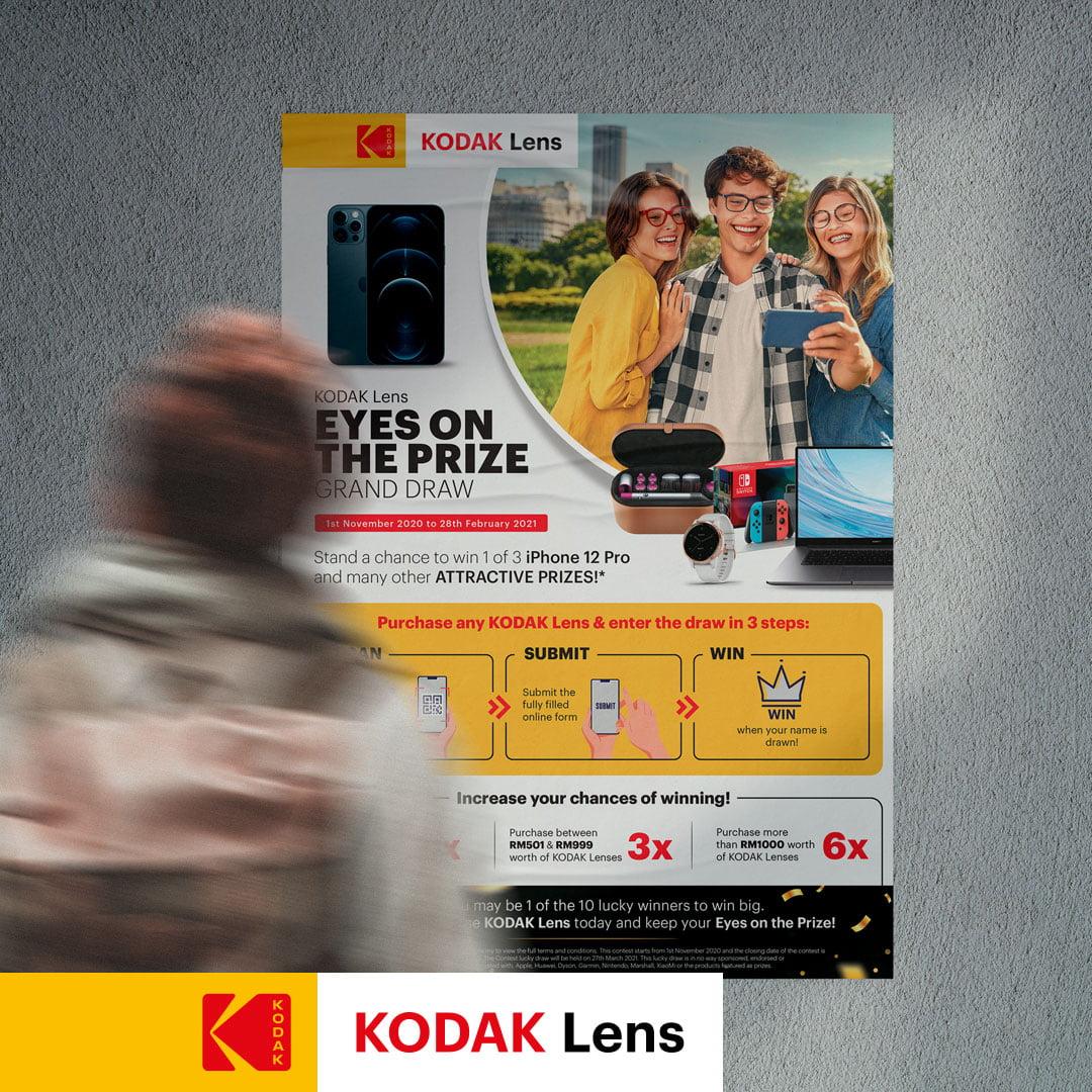 Kodak Lens - Poster