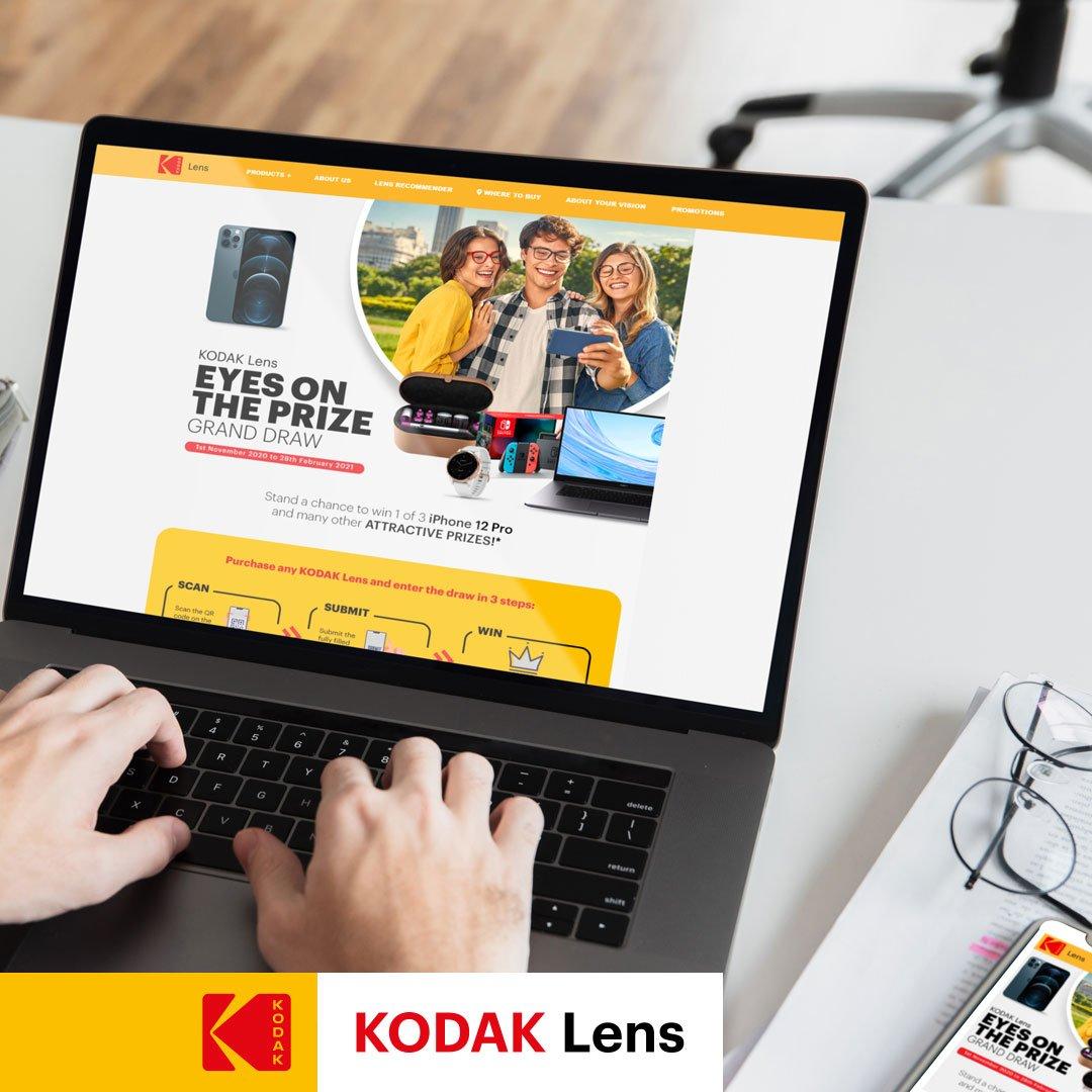 Kodak - Website ( Lens MY Spin & Win )