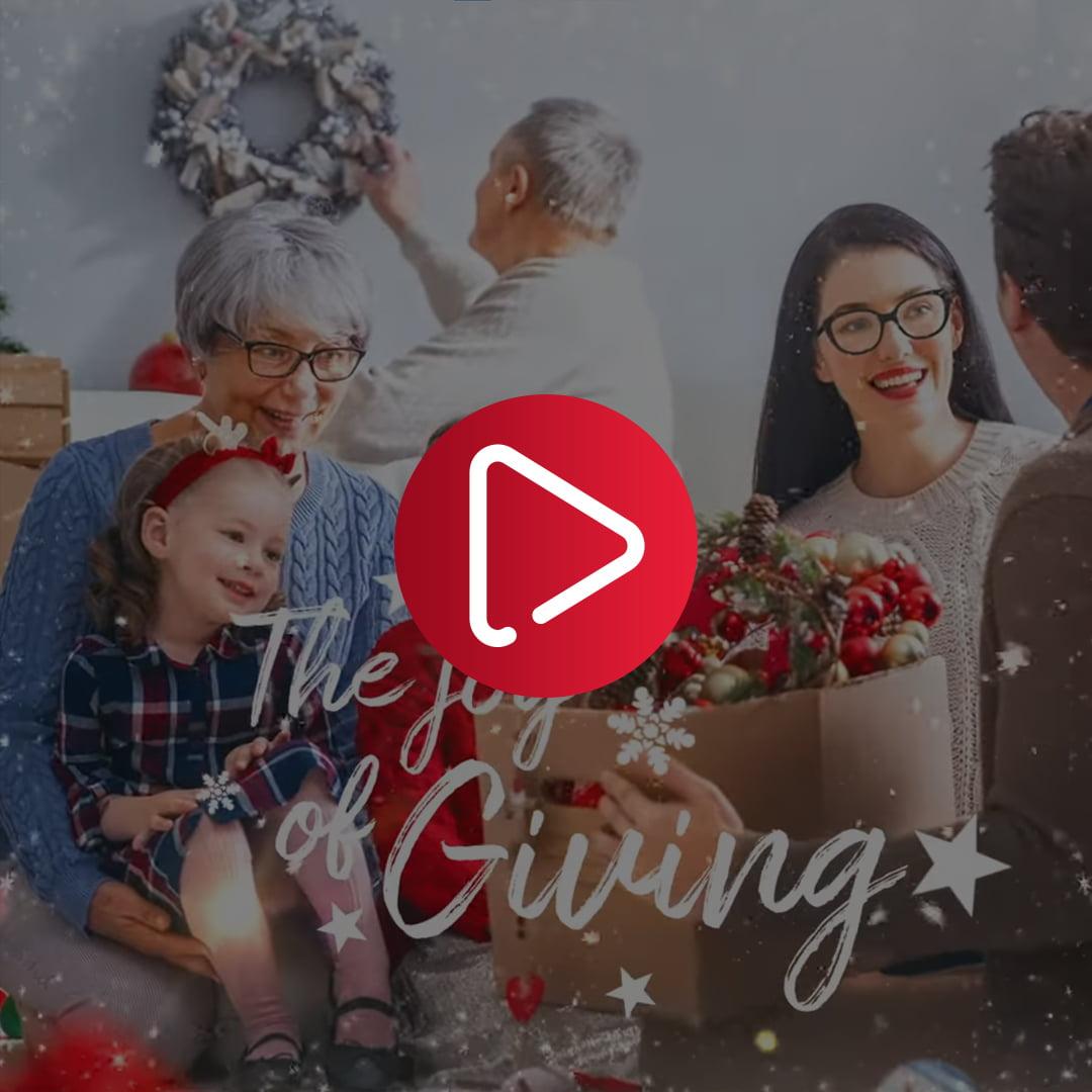 Kodak Lens - Festive Christmas Post