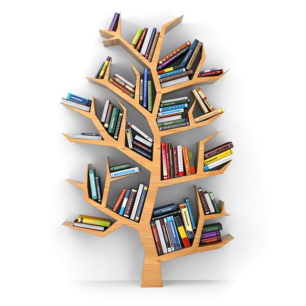 Salt Creatives Tree of Knowledge BookShelf