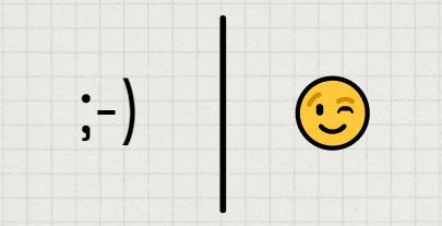 Not the same: emoticon vs emoji